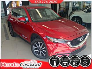 Used 2017 Mazda CX-5 GT AWD-CUIR/DEM DIST/GPS/VOL. CHAUFFANT for sale in St-Hyacinthe, QC