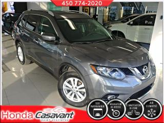 Used 2015 Nissan Rogue SV 2RM - TOIT PANO/PELL. 3M/SIÈGES ÉLECT for sale in St-Hyacinthe, QC