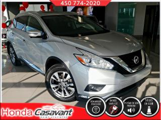 Used 2017 Nissan Murano SL AWD-SIÈGES ÉLECT+MÉMOIRE/GPS/CUIR for sale in St-Hyacinthe, QC