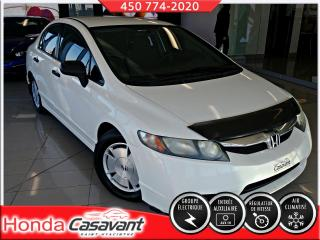 Used 2011 Honda Civic DX-G MANUELLE ** FIABLE ET ÉCONOMIQUE ** for sale in St-Hyacinthe, QC