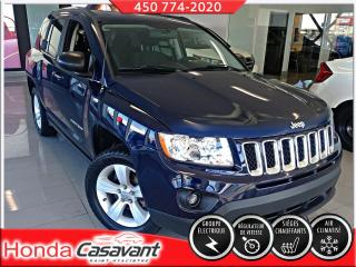 Used 2012 Jeep Compass 2RM , North Edition - TAPIS+PNEUS HIVERS for sale in St-Hyacinthe, QC