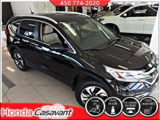 Used 2016 Honda CR-V TOURING AWD -CUIR/GPS/HONDA SENSING for sale in St-Hyacinthe, QC