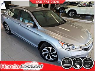 Used 2017 Honda Accord LX - APPLE CARPLAY/SIÈGES ÉLECT./MAGS for sale in St-Hyacinthe, QC