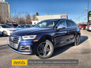 Used 2018 Audi SQ5 3.0T Technik LEATHER  PANO ROOF  BLIS  NAVI  HUD for sale in Ottawa, ON