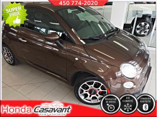 Used 2014 Fiat 500 SPORT, BLUETOOTH / MAGS / AIR CLIM for sale in St-Hyacinthe, QC