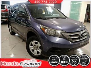 Used 2014 Honda CR-V LX AWD, automatique **TRES PROPRE** for sale in St-Hyacinthe, QC