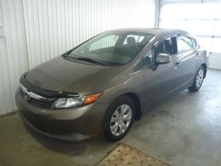Used 2012 Honda Civic 4dr Auto LX for sale in St-Félicien, QC