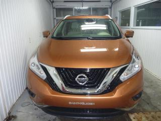 Used 2017 Nissan Murano SL AWD 5dr cuir caméra 360 gps for sale in St-Félicien, QC