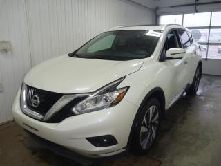 Used 2017 Nissan Murano PLATINE AWD CUIR GPS 360 for sale in St-Félicien, QC