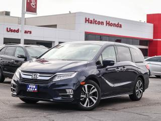 Used 2018 Honda Odyssey Touring|SERVICE HISTORY ON FILE|ACCIDENT FREE for sale in Burlington, ON