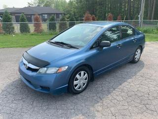 Used 2010 Honda Civic 4DR MAN for sale in Terrebonne, QC