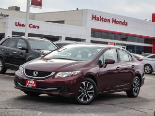 Used 2015 Honda Civic LX|SERVICE HISTORY ON FILE|ACCIDENT FREE for sale in Burlington, ON