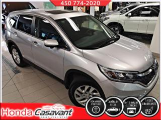 Used 2015 Honda CR-V EX AWD - MAGS/T. OUVRANT/VITRES TEINTÉES for sale in St-Hyacinthe, QC