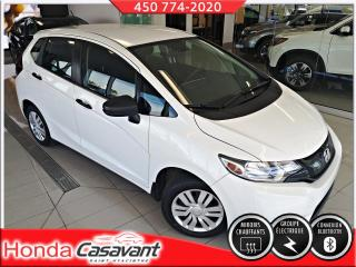 Used 2016 Honda Fit DX, manuelle - BLUETOOTH/CAMÉRA RECUL for sale in St-Hyacinthe, QC