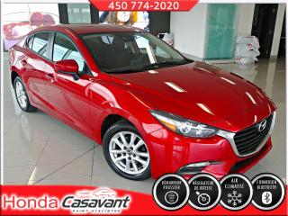 Used 2018 Mazda MAZDA3 GX MAN-VITRES TEINTÉES/CRUISE/BLUETOOTH for sale in St-Hyacinthe, QC
