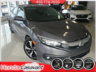 Used 2016 Honda Civic TOURING-CUIR/GROUPE HS/DEM. DISTANCE for sale in St-Hyacinthe, QC