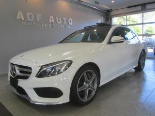 Used 2016 Mercedes-Benz C-Class C300 4MATIC AMG PACKAGE for sale in Longueuil, QC