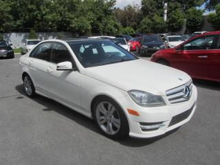 Used 2012 Mercedes-Benz C-Class C300 4MATIC TOIT PANORAMIQUE for sale in Longueuil, QC