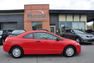 Used 2009 Honda Civic Dx-g automatique cruise vitre electrique a/c for sale in Vaudreuil-Dorion, QC