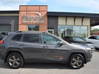 Used 2016 Jeep Cherokee 75e anniversaire v6 awd bas kilometrage no carproof for sale in Vaudreuil-Dorion, QC