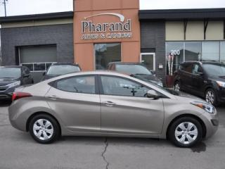 Used 2016 Hyundai Elantra GL for sale in Vaudreuil-Dorion, QC