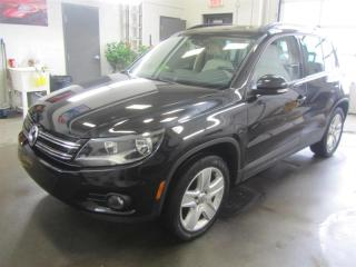 Used 2016 Volkswagen Tiguan 4MOTION CUIR TOIT PANORAMIQUE for sale in Longueuil, QC