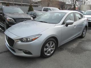 Used 2017 Mazda MAZDA3 MAZDA 3 GS AUTOMATIQUE A/C for sale in Longueuil, QC