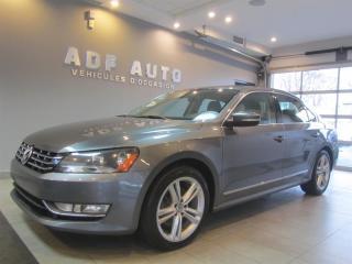 Used 2015 Volkswagen Passat 2.0 L TDI HIGHLINE NAVIGATION for sale in Longueuil, QC