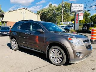 Used 2011 Chevrolet Equinox 3.0L-Air-Bluetooth-Mags-Fog-Jamais Accidentée for sale in Laval, QC