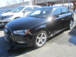 Used 2015 Audi A3 4dr Sdn FrontTrak 1.8T Komfort for sale in Longueuil, QC