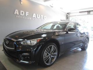 Used 2014 Infiniti Q50 Sport Awd Navigation for sale in Longueuil, QC