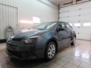 Used 2016 Toyota Corolla 4DR SDN for sale in Trois-Rivières, QC