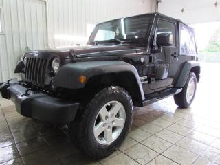 Used 2016 Jeep Wrangler AWD 2DR SPORT for sale in Trois-Rivières, QC