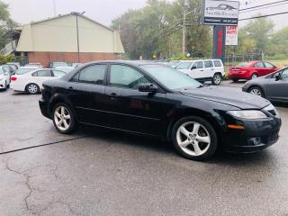 Used 2006 Mazda MAZDA6 Manuel-Mags-Groupe Electrique-Econo for sale in Laval, QC