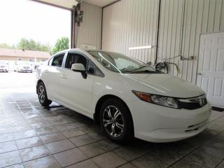 Used 2012 Honda Civic 4DR LX for sale in Trois-Rivières, QC
