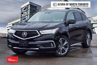 Used 2017 Acura MDX Elite for sale in Thornhill, ON