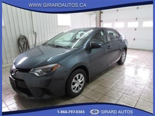 Used 2016 Toyota Corolla CE for sale in Trois-Rivières, QC