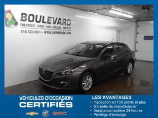 Used 2014 Mazda MAZDA3 SPORT GS/ TOIT/GPS for sale in Rimouski, QC