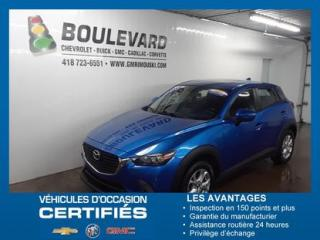 Used 2016 Mazda CX-3 AWD GS for sale in Rimouski, QC