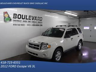 Used 2012 Ford Escape AWD XLT for sale in Rimouski, QC