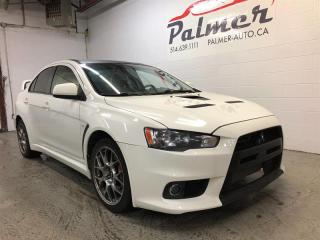 Used 2012 Mitsubishi Lancer 4DR SDN GSR for sale in Lachine, QC