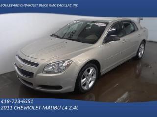 Used 2011 Chevrolet Malibu LS for sale in Rimouski, QC