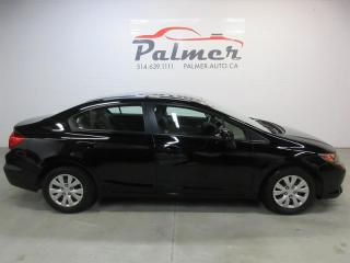 Used 2012 Honda Civic 4DR LX for sale in Lachine, QC