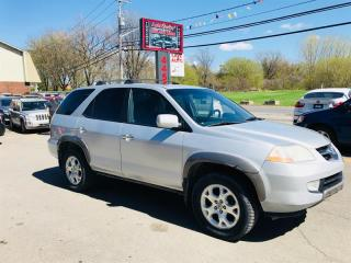 Used 2002 Acura MDX 4WD-Auto-7 Passagers-Cuir-Toit for sale in Laval, QC