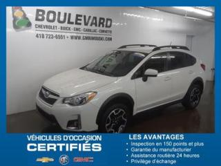 Used 2016 Subaru XV Crosstrek 2,0i GROUPE TOURISME for sale in Rimouski, QC
