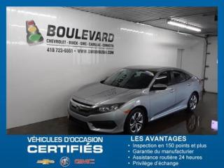 Used 2017 Honda Civic LX for sale in Rimouski, QC