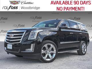 Used 2017 Cadillac Escalade Luxury SUNROOF, DVD, NAV for sale in Woodbridge, ON