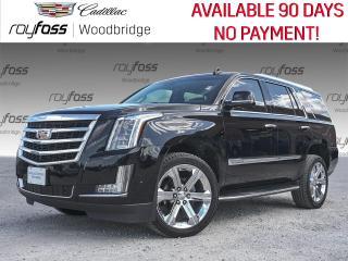 Used 2017 Cadillac Escalade Luxury SUNROOF, DVD, NAV for sale in Woodbridge, ON
