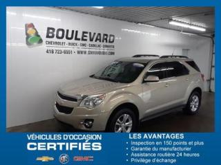 Used 2012 Chevrolet Equinox AWD / SHOWROOM for sale in Rimouski, QC