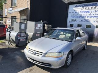 Used 2002 Honda Accord 4dr Sdn SE Auto for sale in Longueuil, QC
